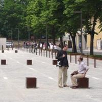 CUBE assise borne - mobilier urbain