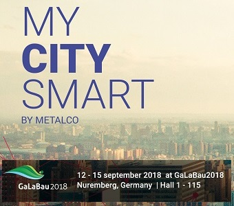 My Smart City by METALCO - GaLabau 2018 - mobilier urbain intelligent & connecté