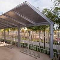 YPSILON MONOLATERAL Abris vélos, Fabricant de structures urbaines, Abris urbains