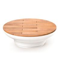 BALZAC mobilier urbain, banc bois, banc béton