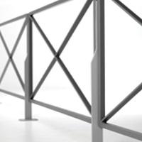 VOILA barrière de ville, barrière urbaine│METALCO fabricant mobilier urbain design
