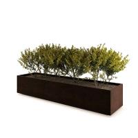 ALTEREGO FS jardinière rectangulaire - Metalco mobilier urbain design