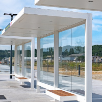 Mobilier Urbain Abri Bus HUT METALCO mobilConcepts