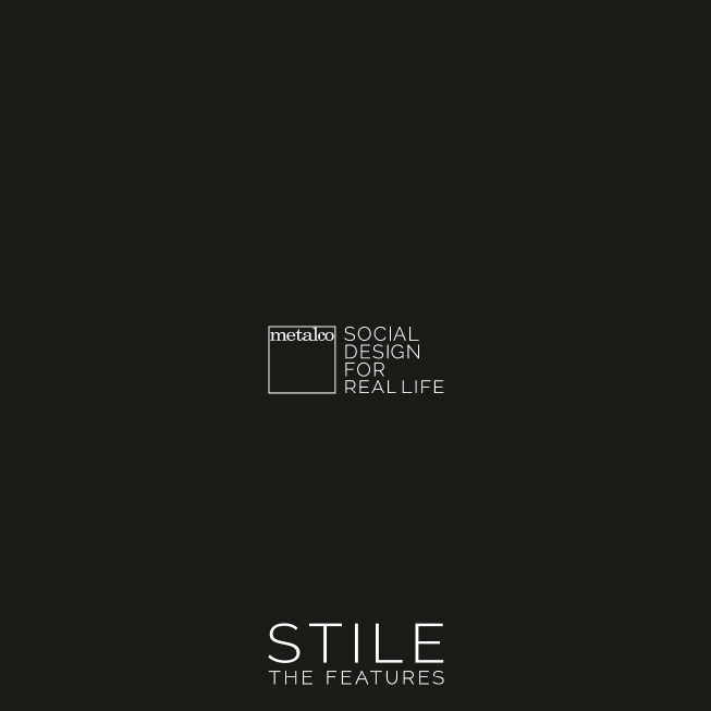 STILE Catalogue mobilier urbain design metalco