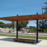 OMBRIERE RADO mobilier de ville, fabricant d'ombrières urbaines, fabricant de stations tramway, mobilier urbain spécifique