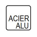 Acier / Aluminium
