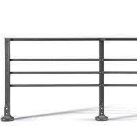 TRANSEO barrière de ville design, barrière urbaine fonte d'aluminium│METALCO fabricant mobilier urbain