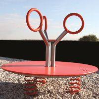 J207 MANEGE pour aires de jeux, jeux sur ressorts│METALCO fabriquant jeux extérieurs mobilier urbain