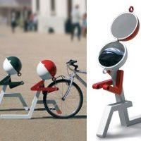 PITSTOP support vélo design, range vélo & range casque