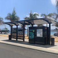 Abri Bus Design BHNS NOUMEA - METALCO fabricant abris voyageurs design