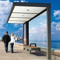 HUT abris voyageurs│METALCO fabricant mobilier urbain design