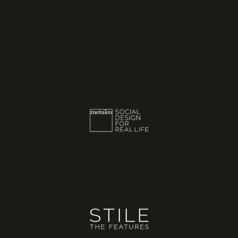 STILE Catalogue mobilier urbain design metalco