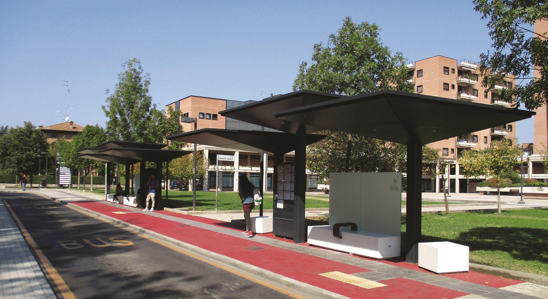 GPDUE abris voyageurs METALCO fabricant mobilier urbain design