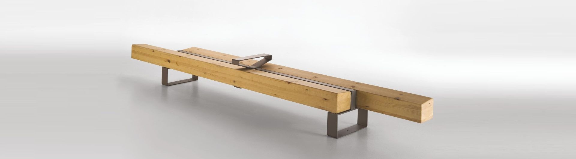 Banc Bois Design FORESTA METALCO récompensé GOOD DESIGN AWARD