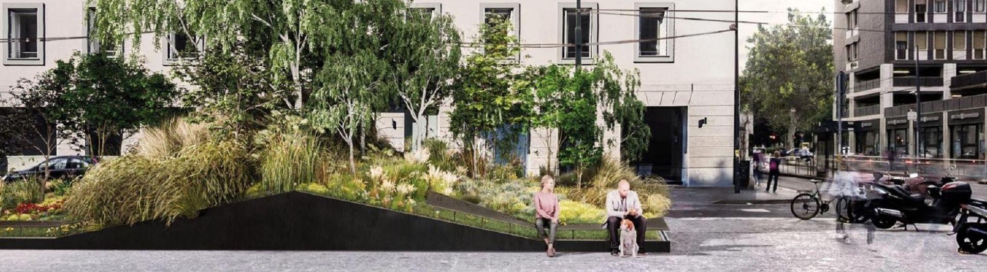 Metalco Superverde - solution de végétalisation urbaine