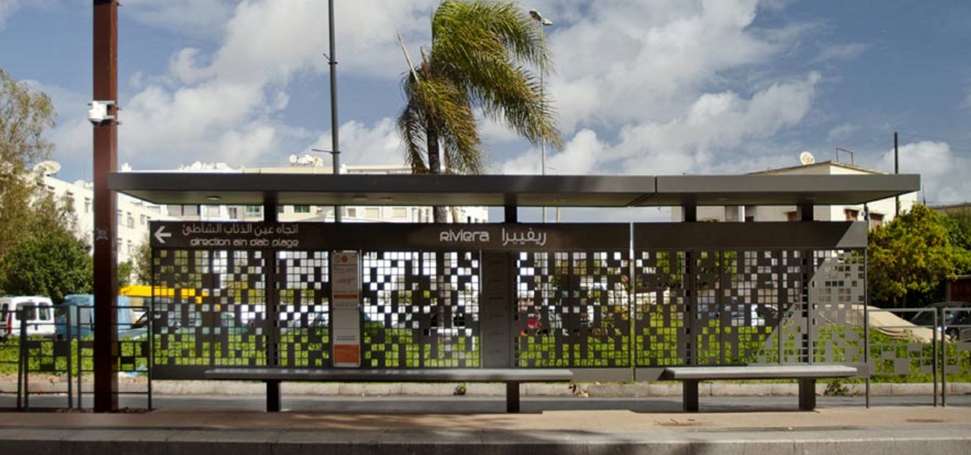CASABLANCA - Abris Tramway et mobilier urbain metalco mobilconcepts